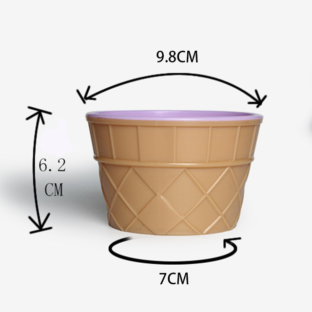 1 zestaw miska do lodów łyżka plastikowy kolor szlam wyczyść pojemniki klej Putty piankowa piłka pudełka do przechowywania DIY zestawy dla dzieci akcesoria