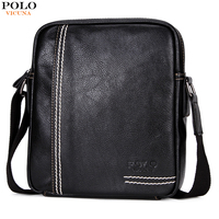 VICUNA POLO Luxury Brand Men S Messenger Bag Leather Crossbody Men Bags Casual Designer Handbags Large