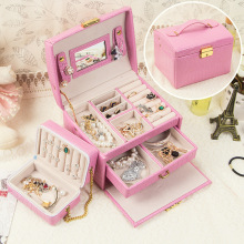 High Quality Leather Jewelry Box (7 Colors )