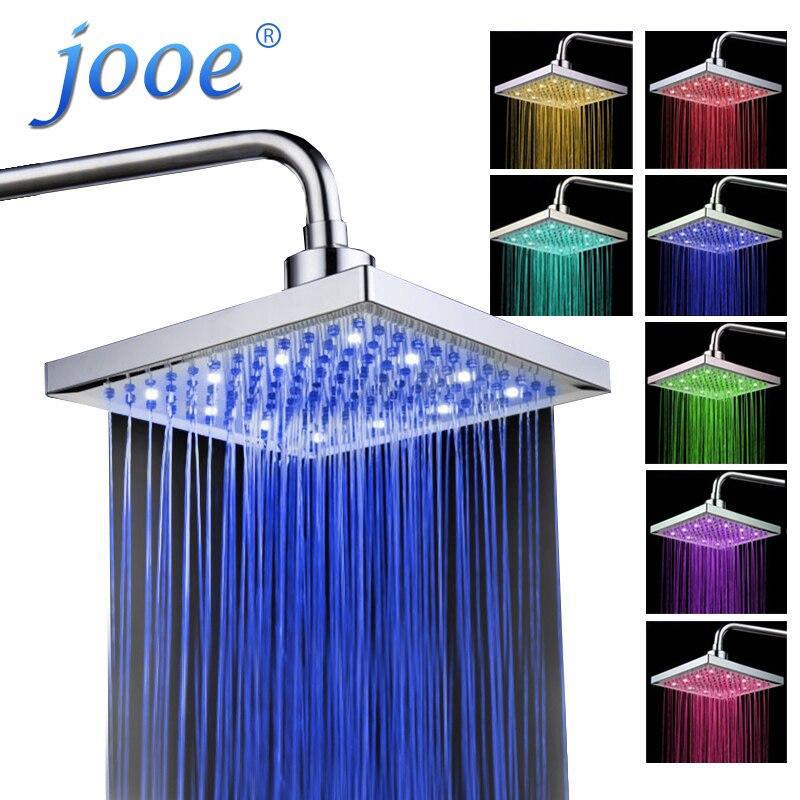 Jooe 8 \'\'LED duschkopf 7 farbe licht ändern ...