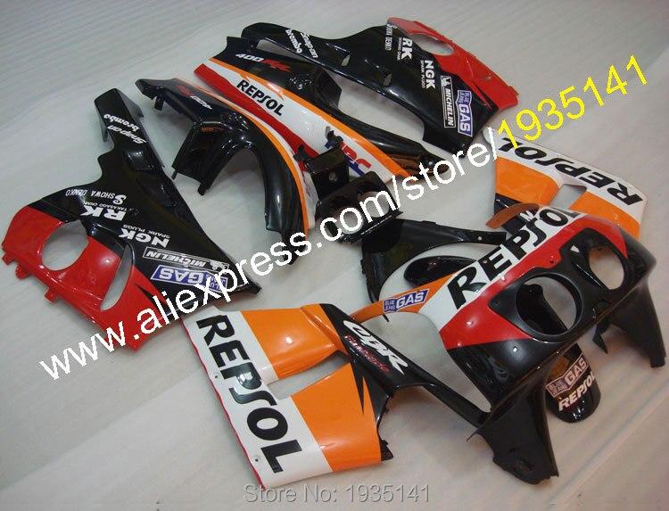 Горячие продаж,компания Repsol обтекатель для Honda CBR400RR NC29 комплект тело 1990-1998 ЦБР 400 РР 90-98 1990 1991 1992 Кузов мотоцикл Обтекатели
