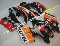 Hot Sales,Repsol Fairing For Honda CBR400RR NC29 Body Kit 1990 1998 CBR 400 RR 90 98 1990 1991 1992 Bodywork Motorcycle Fairings