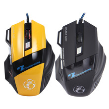 2017 Professional Wired Gaming Mouse 7 Button 3200 DPI LED Optical USB Cable Computer Mouse Gamer Mice For PC Laptop Desktop