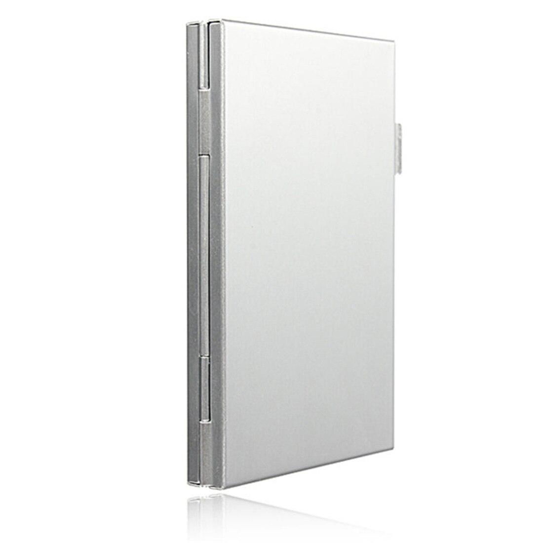 Image 5 - NOYOKERE Высокое качество 6 слотов двойной стол алюминиевый ящик для хранения для SD SDHC SDXC MMC чехол для держателя карты памяти протектор-in Чехлы для карт памяти from Компьютер и офис on AliExpress - 11.11_Double 11_Singles' Day