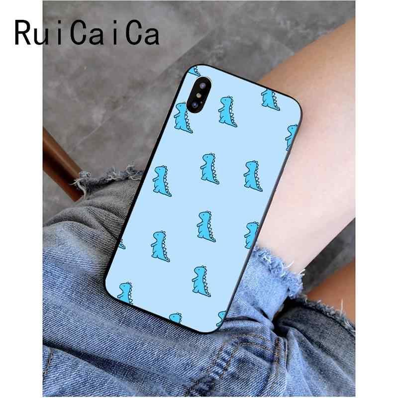Ruicaicaかわいい漫画恐竜高級ユニークなphonecase iphone x xs最大 6 6s 7 7 プラス 8 8 プラス 5 5s、se xr 11 11pro 11promax