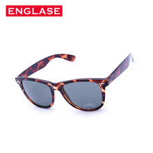 ENGLASE Women s Sunglasses TR90 Fashion Glasses Women Leopard print Sunglasses Square Women Gray lens Oculos