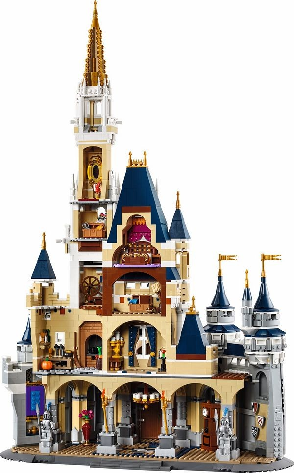 Lepin 16008 4080Pcs Cinderella Princess Castle City Model Building Block Kid Toys For Children Gift 71040 lepin 16008 creator cinderella princess castle city 4080pcs model building block kid toy gift compatible 71040