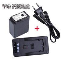 VW VBG6 Rechargerable Camera Battery + VW VBG6 VWVBG6 SUPER rapid Charger For Panasonic AG HMC71 HMC73 HMC150 HPX250 AC160MC