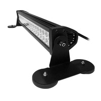 2pcs Punching Free Powerful Mount Bracket Holder With Strong Magnetic Base Roof LED Light Bar For