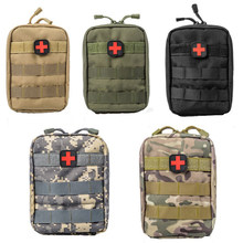TAK YIYING Tactical Medical First Aid Kit Bag Molle Medical EMT Cover Outdoor Emergency Military Package Outdoor Travel Hunting(China)