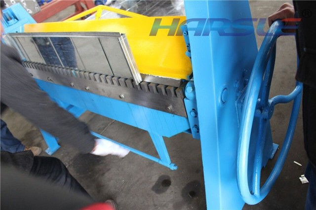US $1500 0  harsle S 1 2*2500 manual sheet metal bending folding machine-in  Bending Machinery from Tools on Aliexpress com   Alibaba Group