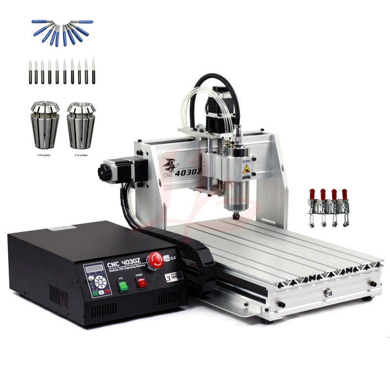 800W spindle metal engraving cnc cutting drilling machine 800W mini wood router USB port cnc 3040 with free cutter er11 collet jft industrial wood cnc machine 4 axis 800w cnc router with usb port high quality engraving machine 6090 page 8