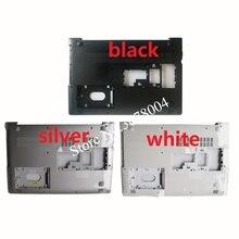 Novo para lenovo ideapad 510 15 510 15isk 510 15ikb 310 15 310 15isk 310 15abr portátil capa inferior preto/branco/prata