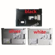 חדש עבור lenovo ideapad 510 15 510 15ISK 510 15IKB 310 15 310 15ISK 310 15ABR מחשב נייד תחתון מקרה כיסוי שחור/לבן/כסף