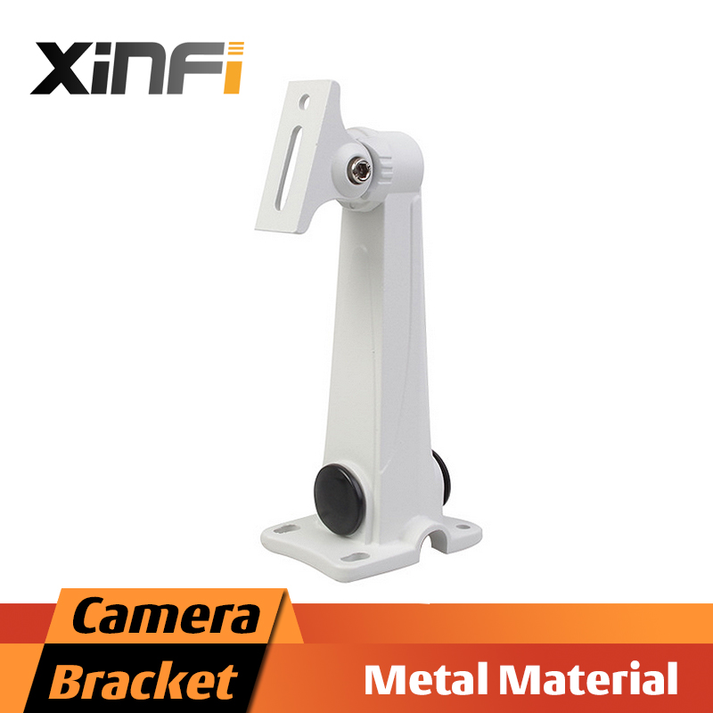 XinFi High quality Metal material bracket for Bullet Camera Indoor/Outdoor Wall Mount Aluminium alloy Bracket CCTV Accessories cctv bracket ds 1212zj indoor outdoor wall mount bracket suit for bullet camera s bracket ip camera bracket