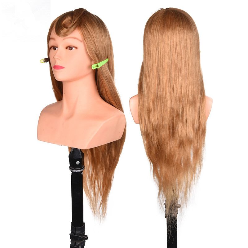 professional hair styling head manikin head with 100% real human hair hairdressing mannequins  head hairdresser head with bust  professional hair styling head manikin head with 100% real human hair hairdressing mannequins  head hairdresser head with bust