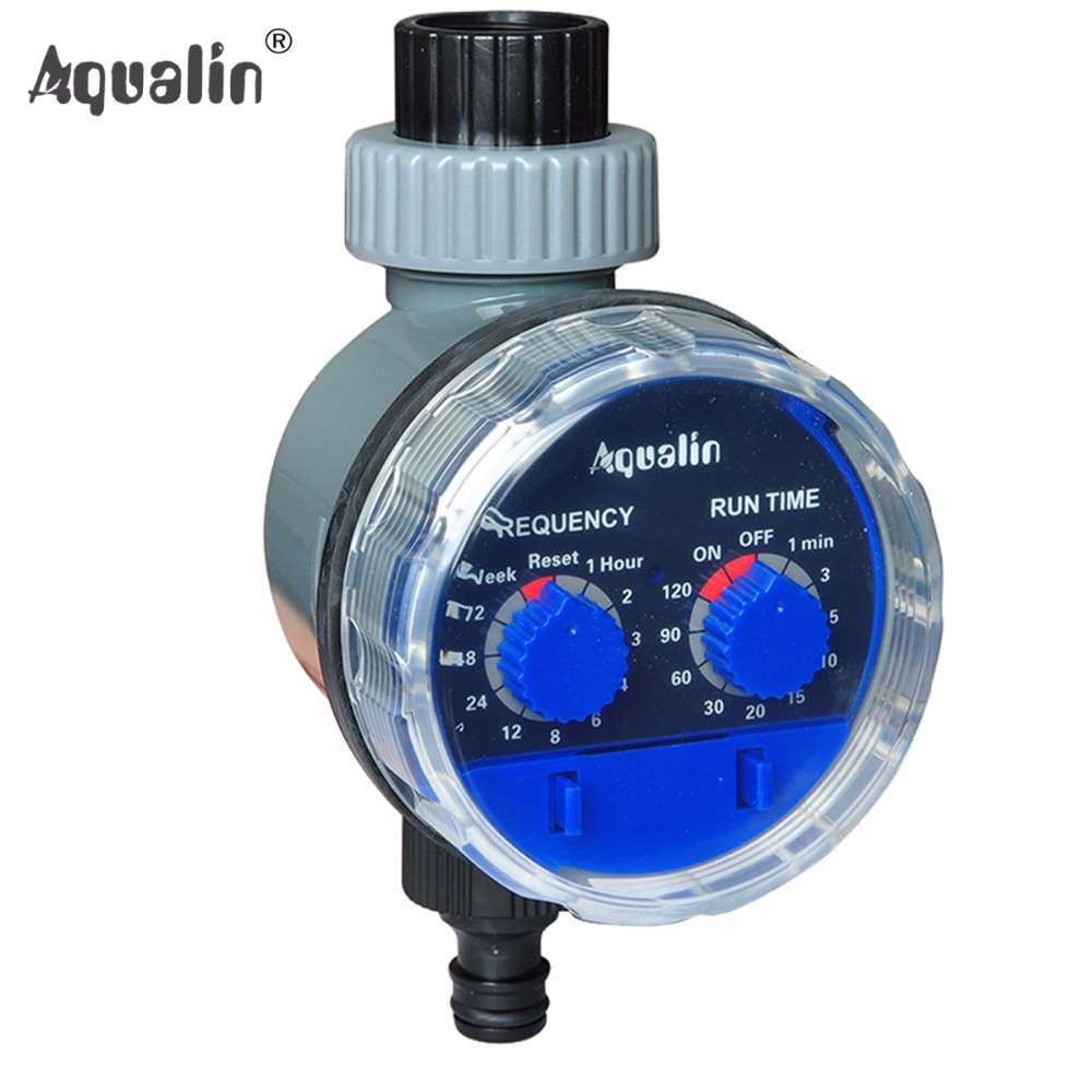 Ball Valve Automatic font b Electronic b font Water Timer Home Garden Irrigation Controller System 21025