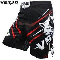 VSZAP Mma Short muay thai Black Boxing Sports Tatami explosion Fighting wolf Combat MMA Shorts