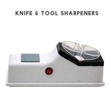LIHUACHEN D1 elektryczna ostrzałka do noży automatyczna szlifierka regulowana do noży kuchennych scyzoryk/ostrzarka nożycowa