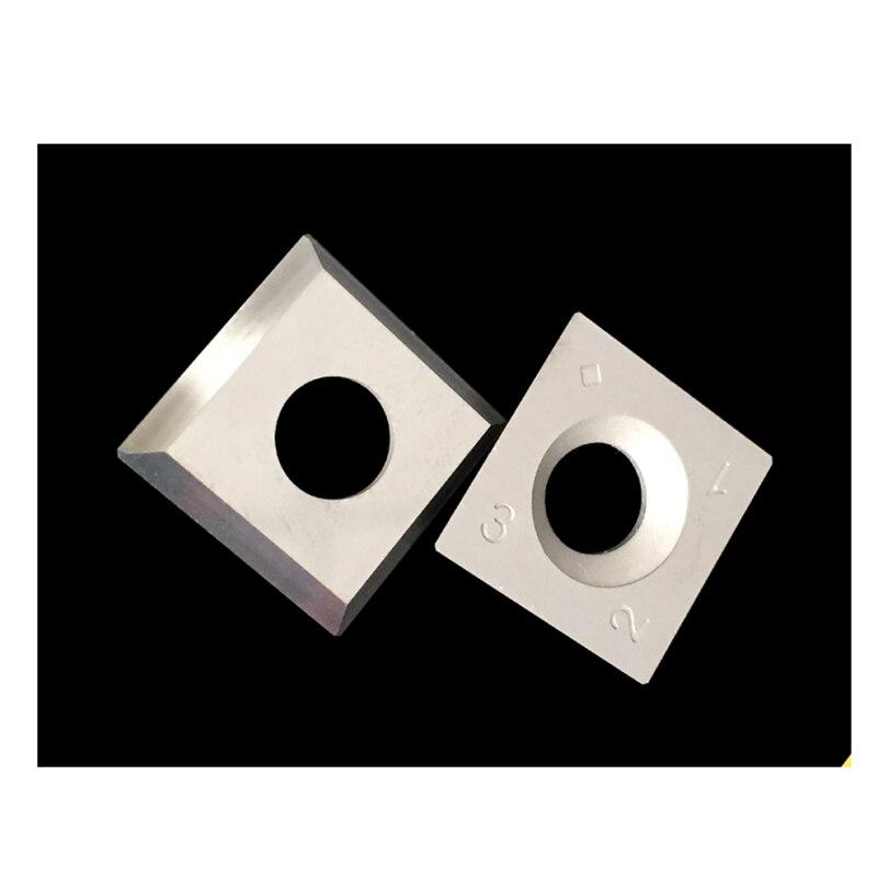 "15 x 15 x 2.5mm 10pcs 6/"" Radius Square Carbide Inserts 4-Edge For Wood Turning"