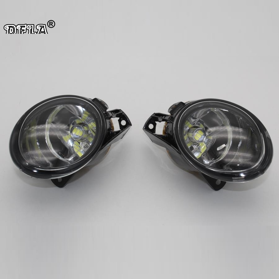 Car LED Light For VW Passat B6 2006 2007 2008 2009 2010 2011 Car-Styling Front LED Fog Lamp Fog Light car usb sd aux adapter digital music changer mp3 converter for volkswagen beetle 2009 2011 fits select oem radios