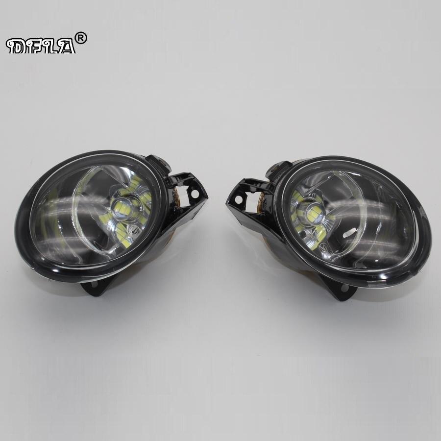 DFLA Voiture LED Lumière Pour VW Passat B6 3C 2006 2007 2008 2009 2010 2011 Voiture-Devant LED Brouillard Lampe Brouillard Lumière