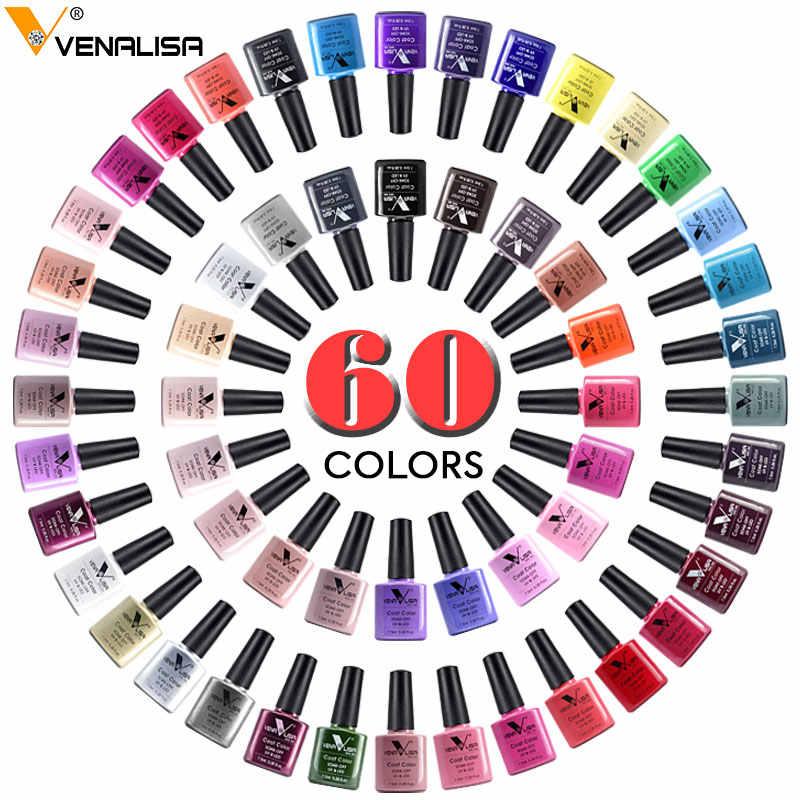 #61508 Venalisa Гель-лак для ногтей замочить от УФ светодиодный УФ гель лак для ногтей гель длительный красота салон дизайн ногтей Поддельные Советы Дисплей