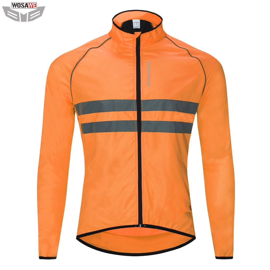 WOSAWE High Visibility Motorcycles Jacket Reflective Safety Vest Windproof off Road Motocross MOTO Protection