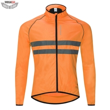 WOSAWE High Visibility Motorcycles Jacket Reflective Safety Vest Windproof off Road Motocross MOTO Protection Jacket цена и фото