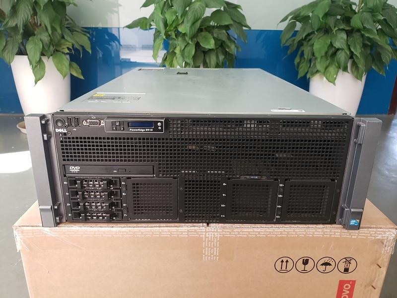 Original R910 4U Rack Server Barebone Platform Used 90%new