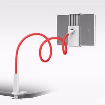 Soporte Universal Flexible brazo perezoso teléfono móvil cuello de cisne soporte de escritorio soporte de montaje para tabletas de teléfono móvil iPad