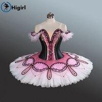 Bew Type Quality For 2017 Ballet Tutu Ballet Stage Costumes Black White Professional Classical Ballet Tutu