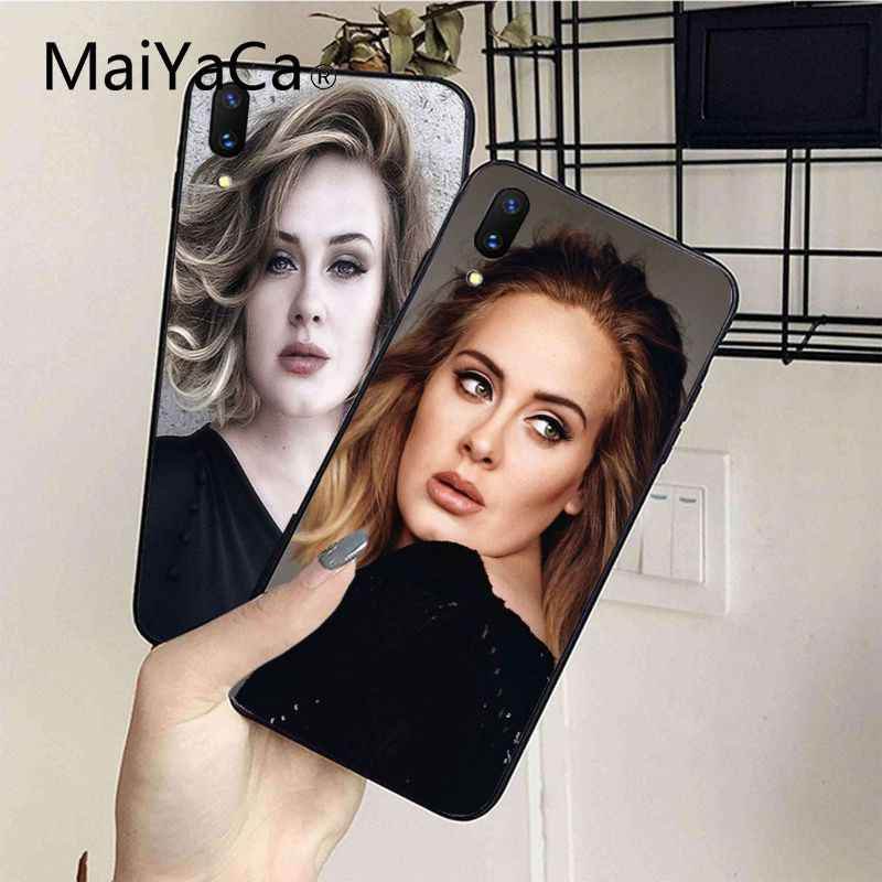 c0197bd4c56 MaiYaCa Adele New Personalized print Phone Accessories For iphone 7 7plus X  8 8plus And 5