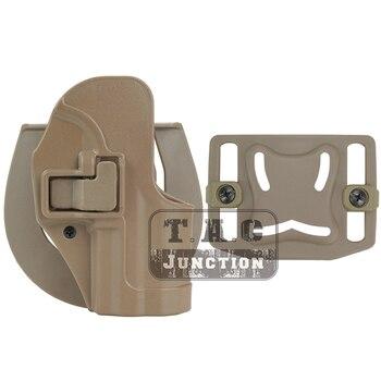 Тактическая CQC Serpa Маскировка быстрая правая рука поясной ремень Петля кобура Пистолет Чехол для Телец PT111 G2
