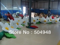 Горячие надувные цветы для украшения Patry