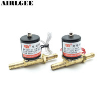 VZCT 2 2 DC24V AC220V 2 Way Solenoid Valve 0 0 6Mpa For Argon Arc Welding