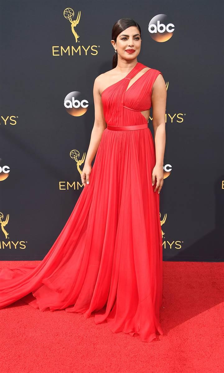 Custom Made Priyanka Chopra Cut Out Emmy Awards Red Celebrity ...