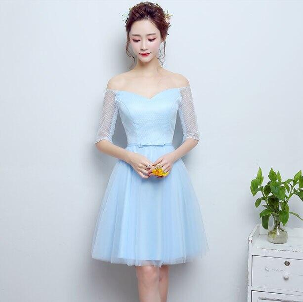 Fotos de vestidos azul claro