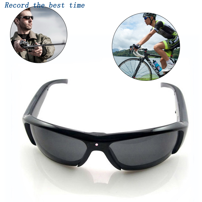 HD 1080P Glasses Camera Mini Camcorder DV Car Driving Sunglasses Outdoor Sport Polarized Smart Glasses With Video Recorder