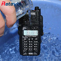 Nivel ip67 a prueba de agua walkie talkie retevis rt6 5 w doble banda vhf uhf vox scan dtmf walkie portátil profesional-talkie walk talk