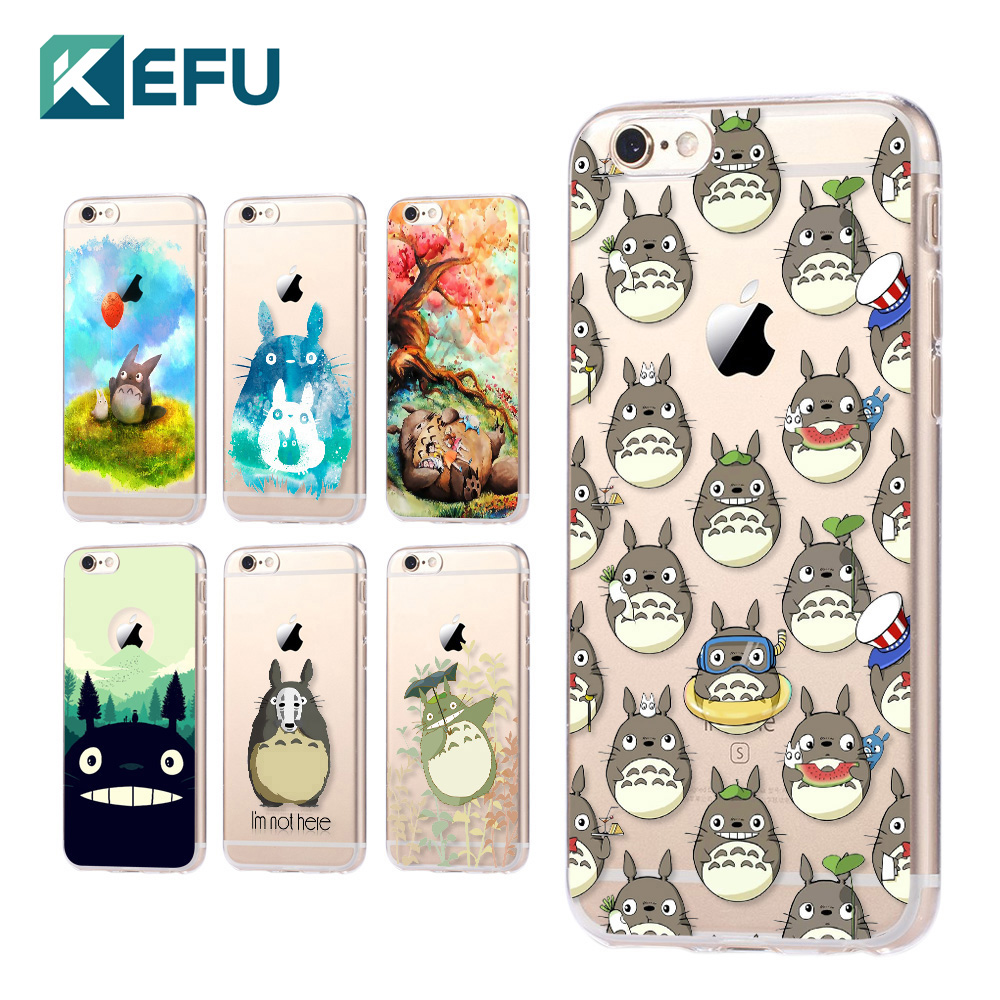 for coque iphone 5s case 5c 5s 6 6s 7 plus totoro soft silicone tpu cover 2016 new arrivals. Black Bedroom Furniture Sets. Home Design Ideas