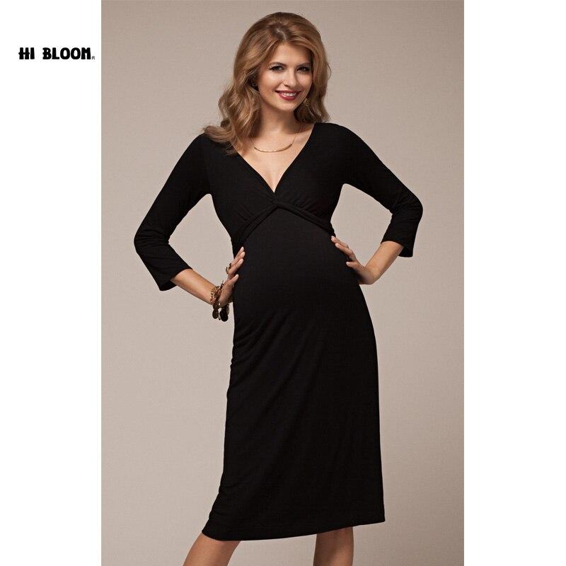 Maternity evening dress plus size