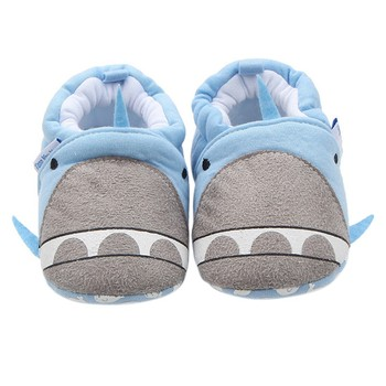 2018 Infantil Winter Warm Lovely Butterfly-knot Baby Shoes Soft Bottom Non-slip Bow Toddler Cartoon Pattern Shoes First Walkers Baby's First Walkers