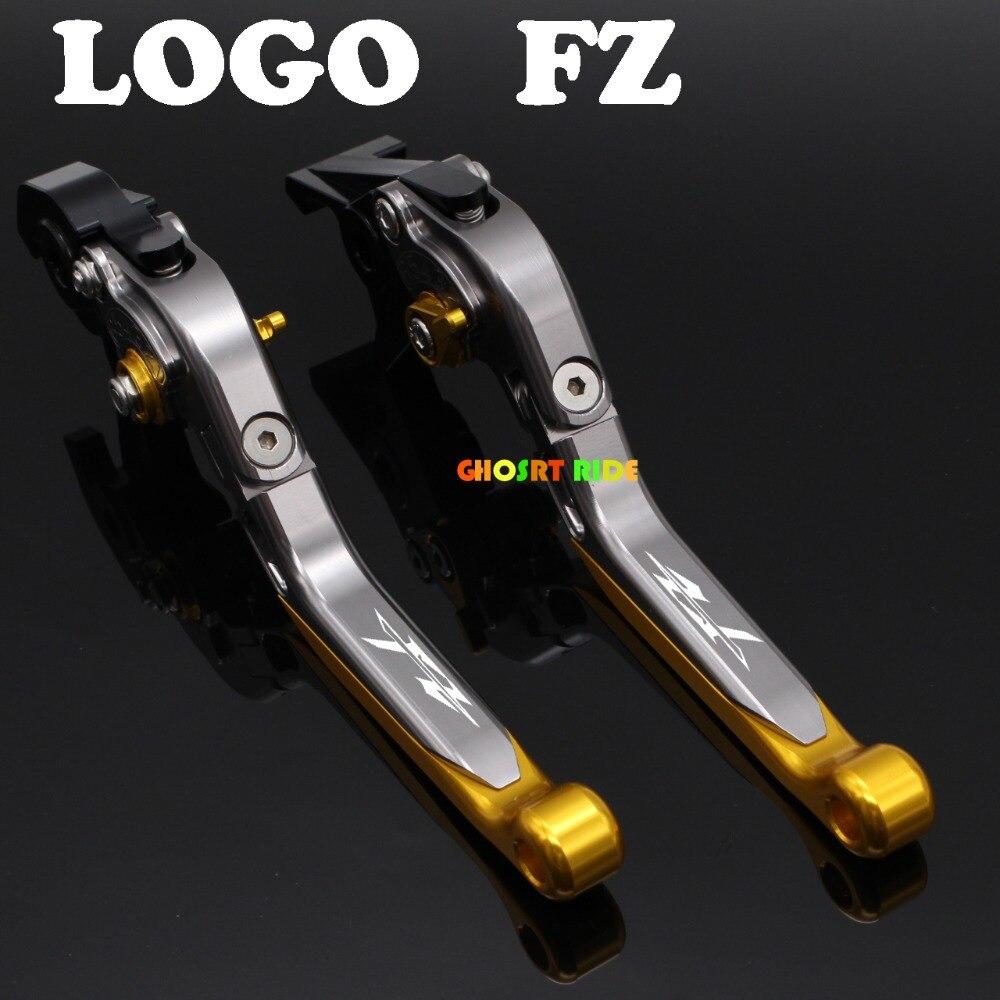fits For YAMAHA FZ1/FZ6 Fazer FZ6R Diversion Motorcycle Adjustable Folding Extendable Brake Clutch Lever Titanium