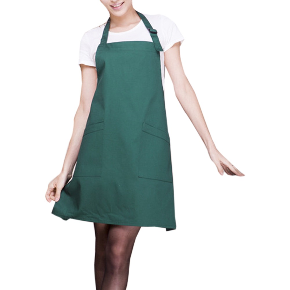 Fashion Light Weight Polyester Kitchen Apron For Lady Green TB Sale(China  (Mainland)