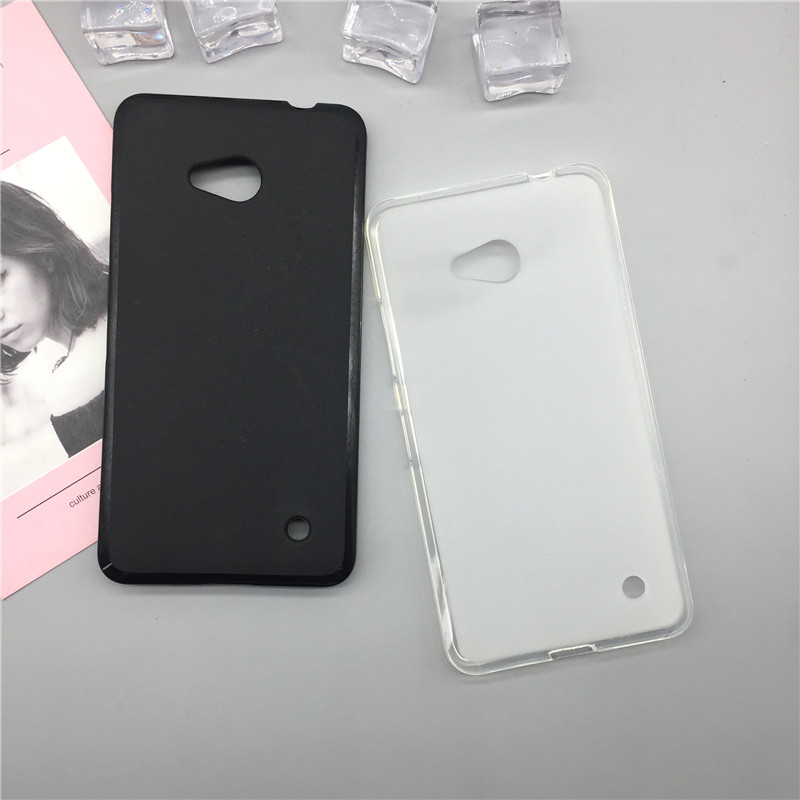 Original TPU Phone Case Covers for <font><b>Microsoft</b></font> Nokia <font><b>Lumia</b></font> <font><b>640</b></font> <font><b>Lte</b></font> Dual Sim N640 Matte Soft Silicone Back Cover Cases <font><b>Capa</b></font> Funda image