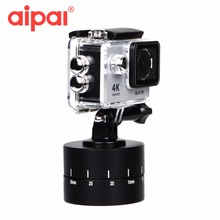 60 Minutes Panning Rotating Tripod Time Lapse Stabilizer Tripod Adapter Action Camera Accessorie for Gopro Hero 5 4 Xiaomi Yi