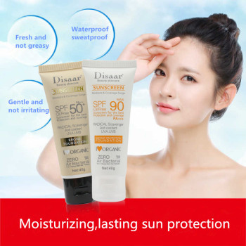 Facial Body Sunscreen Whitening Sun Cream Sunblock Skin Protective Cream Anti-Aging Oil-control Moisturizing SPF 90 Face 1