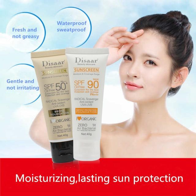Facial Body Sunscreen Whitening Sun Cream Sunblock Skin Protective Cream Anti-Aging Oil-control Moisturizing SPF 90 Face 1