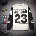 New fashion 2015 fall women/mens casual tops sweathsirt print Jordan 23 long sleeve pullover hoodie sweat shirts